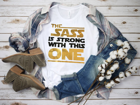 Sassy Strong Star Wars Inspired Children/Adult Tee