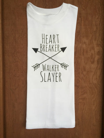 Heart Breaker Walker Slayer Child/Adult Tee/Tank/Onesie