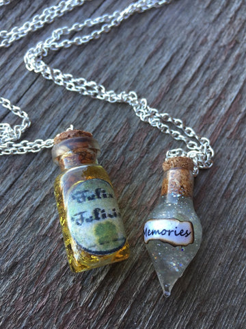 Felix and Pensive Memories Necklace