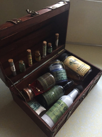 Decorative Full Potter Potions Set (Case Included)