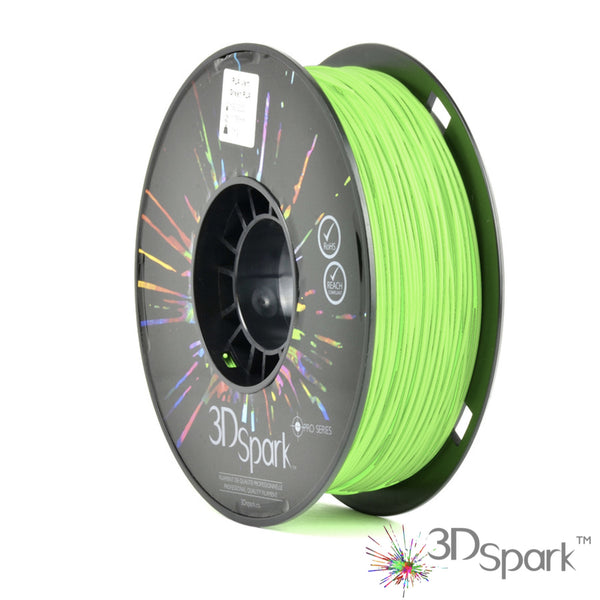 PLA Green 1Kg 1.75mm filament  from 3D Spark