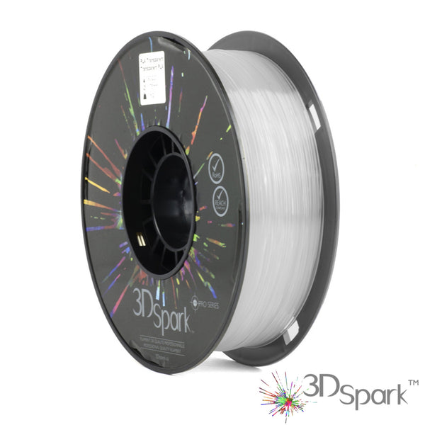 PLA Transparent 1Kg 1.75mm filament  from 3D Spark