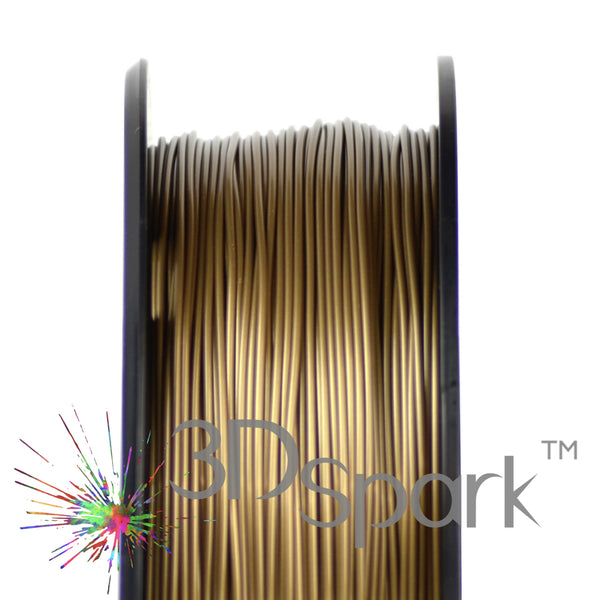 PLA Gold 1kg 1.75mm filament  from 3D Spark