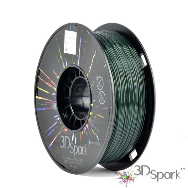 PLA Dark green 1kg 1.75mm filament  from 3D Spark