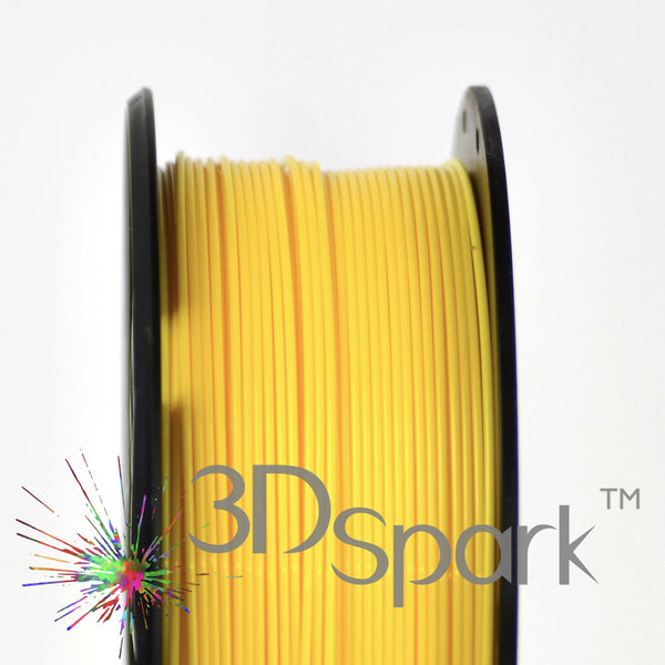 ABS Yellow 1Kg 1.75mm filament  from 3D Spark
