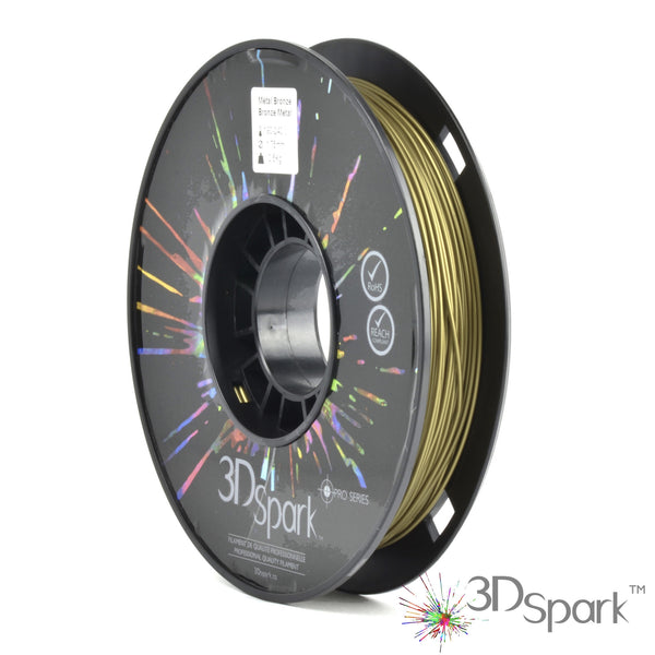 Metal Bronze 0.5Kg 1.75mm filament  from 3D Spark