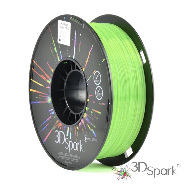 PETG Green 1Kg 1.75mm filament  from 3D Spark