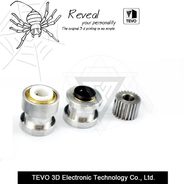 TEVO Black Widow Titan Extruder Kits
