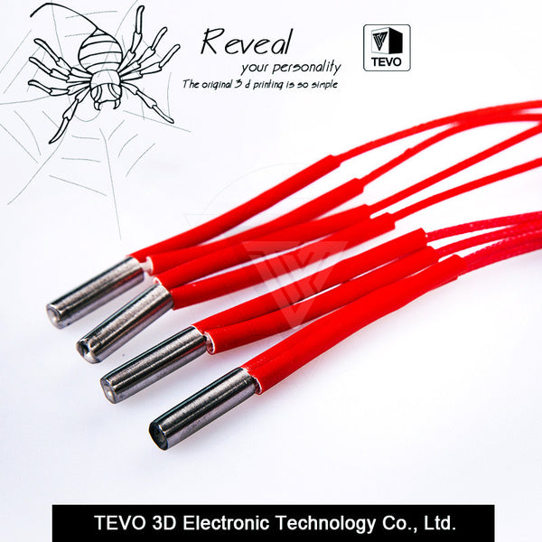 TEVO 12V 40W Cartridge Heater With 100CM cable