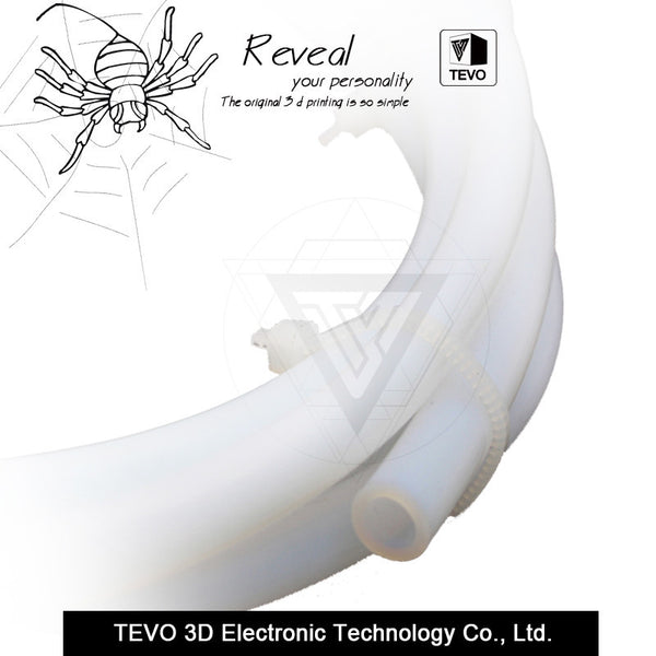 TEVO PTFE Tube Teflon for J-head hotend Bowden Extrude 1.75mm filament ID 2mm OD 4mm