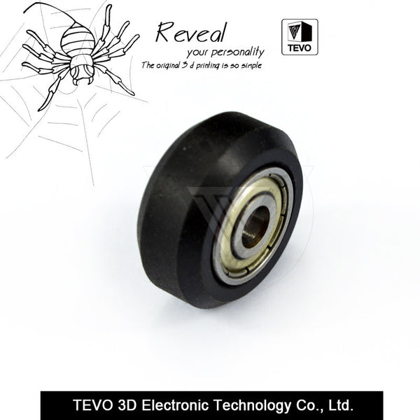 TEVO CNC Openbuilds Plastic wheel POM with Bearings
