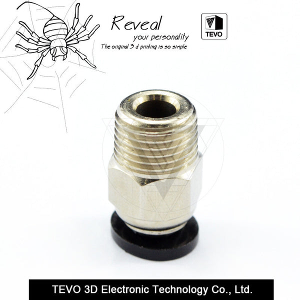 TEVO Pneumatic Connector Fittings PC4-01