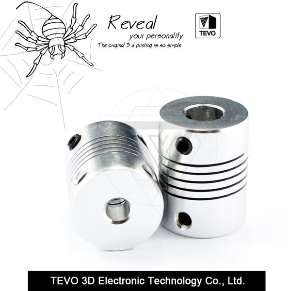 TEVO 5x8mm flexible coupling shaft for NEMA stepper motor