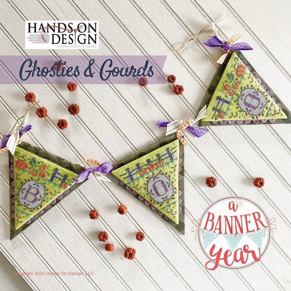 Thread Pack - Ghosties & Gourds (A Banner Year) by Hands On Design