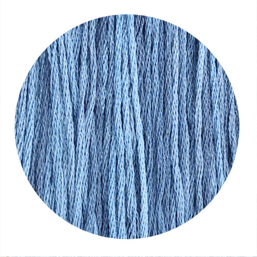 Hand Dyed Thread - Dusty Blue