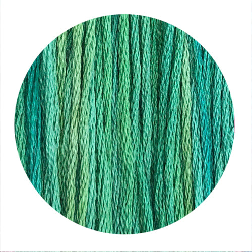 Hand Dyed Thread - Emerald City