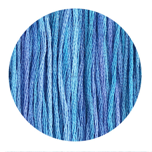 Hand Dyed Thread - Mermaid Shimmer