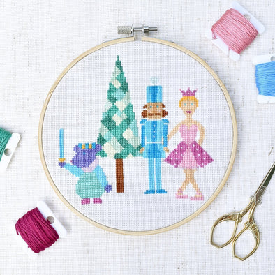 The Nutcracker Cross Stitch Pattern - Digital PDF - [product_type)] by Colour and Cotton