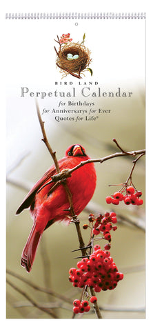Bird Land Perpetual Calendar - Quotes for Life