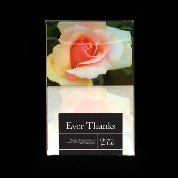 Ever Thanks: One Dozen Roses - Quotes for Life
