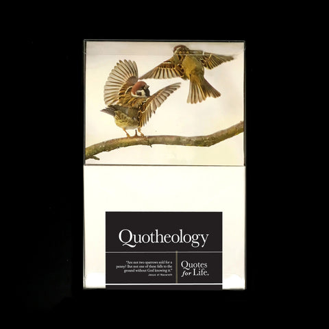 Quotheology Note Cards (religious)