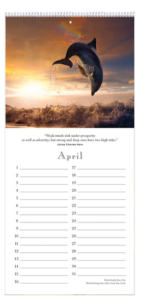 Think Deep Perpetual Calendar - Quotes for Life