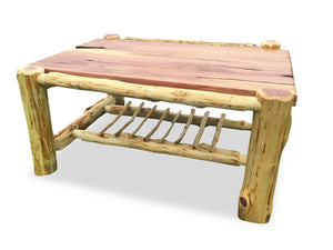 Knaughty Log Co - Knaughty Log Co - Signature Knaughty Log Coffee Table