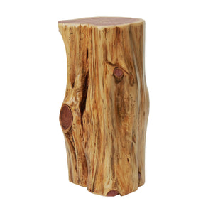Knaughty Log Co - Knaughty Log Co - Tree Stump End Table - Night Stand - Stool