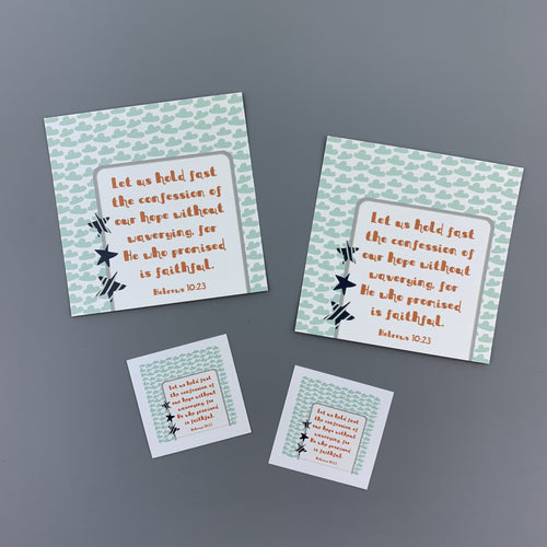 Kid Notes Hebrews 10:23 Envelope - Grace Notes Subscription