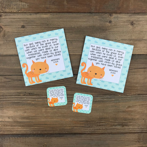 Kid Notes Ephesians 2:3-4 Envelope - Grace Notes Subscription
