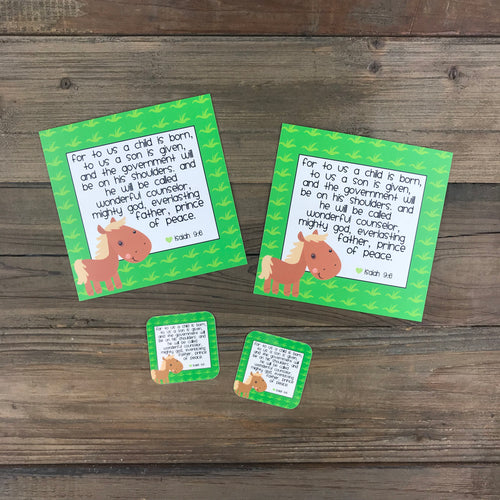 Kid Notes Isaiah 9:6 Envelope - Grace Notes Subscription