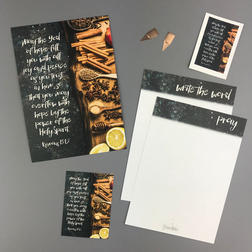 Romans 15:13 Envelope - Grace Notes Subscription