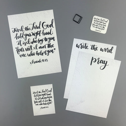 Isaiah 41:13 Envelope - Grace Notes Subscription