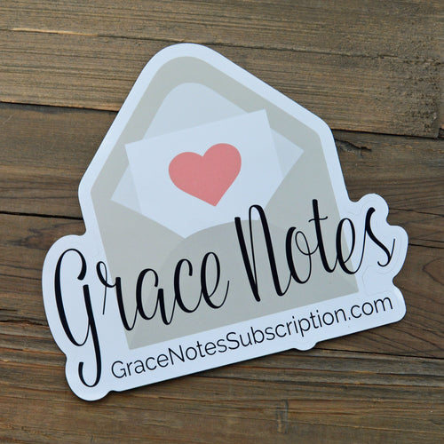 Grace Notes Sticker