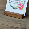 Large Handmade Wood Stand - Grace Notes Subscription