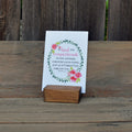 Small Handmade Wood Stand - Grace Notes Subscription