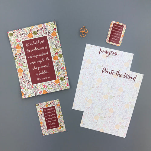 Hebrews 10:23 Envelope - Grace Notes Subscription