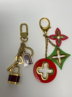 Louis Vuitton key fob/bag charm tassels - New York Authentic Designer - Louis Vuitton
