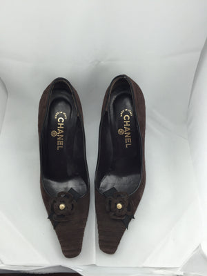 Authentic Chanel Pumps (Brown) - New York Authentic Designer - Chanel