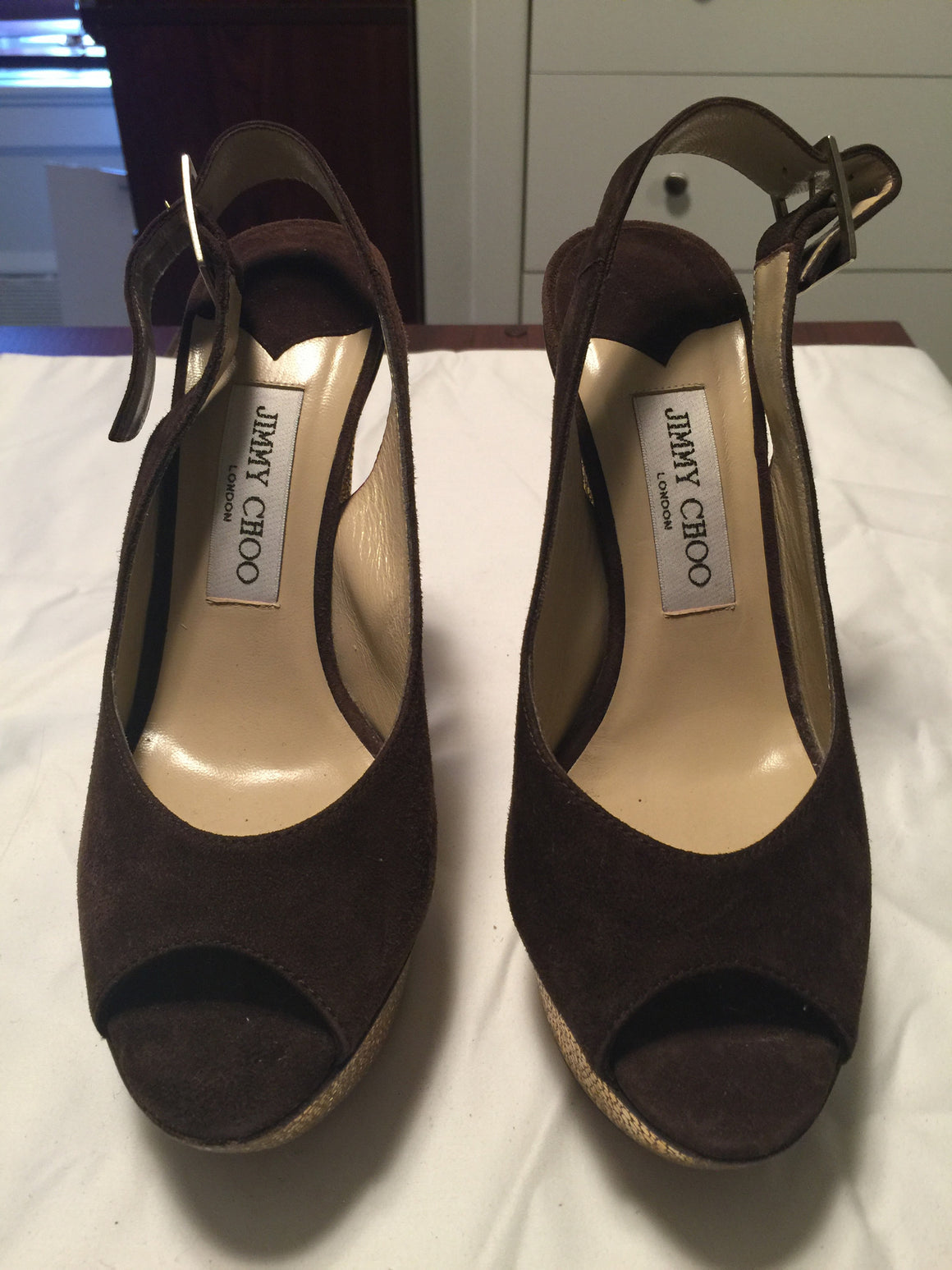 Jimmy Choo Platform Pumps - New York Authentic Designer - Jimmy Choo