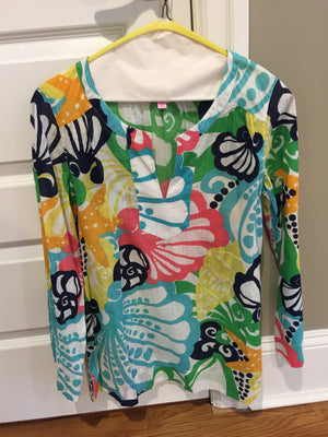 Lilly Pulitzer Tunic - New York Authentic Designer - Lilly Pulitzer