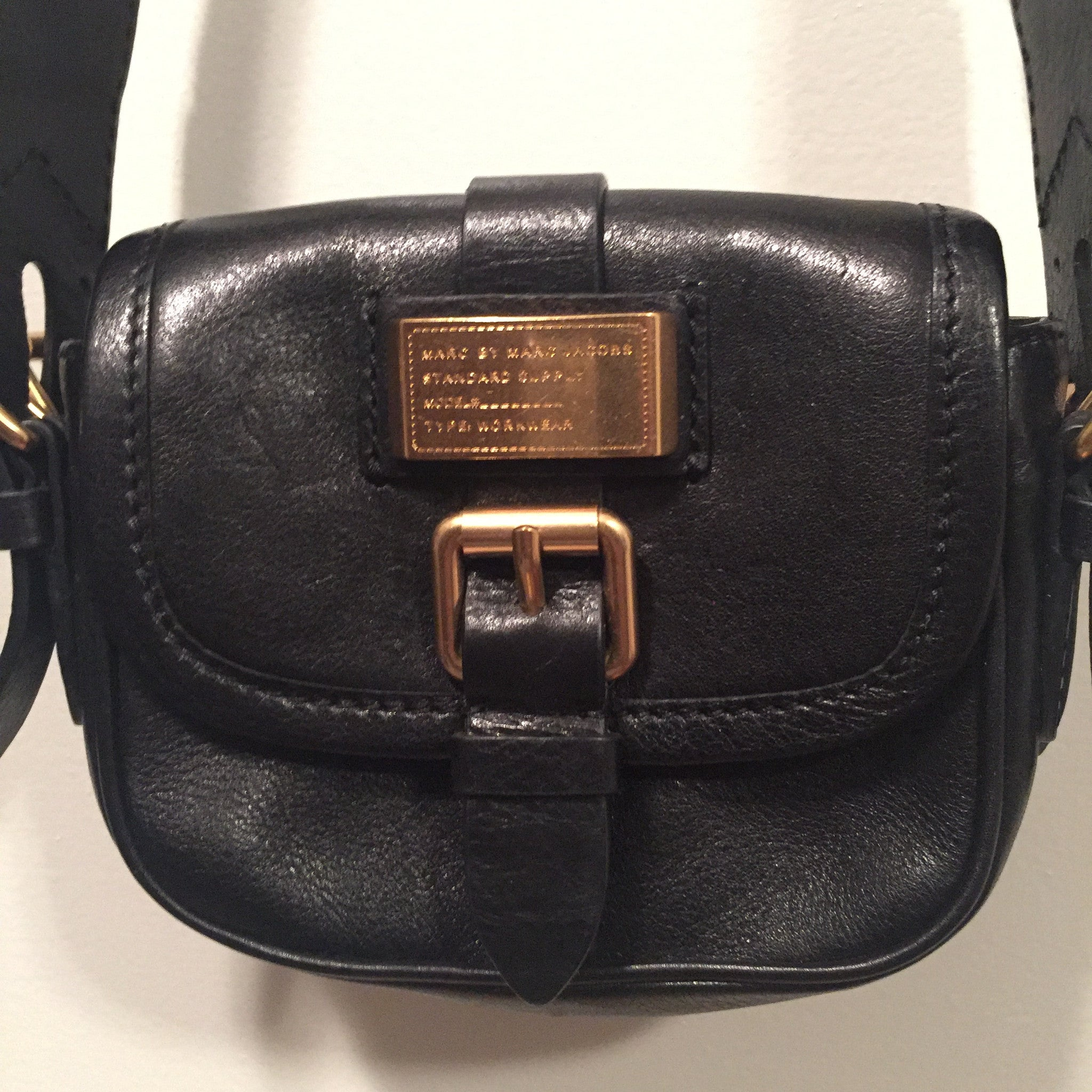 21d90f70af Marc by Marc Jacobs Black Crossbody Bag - New York Authentic Designer - Marc  by Marc