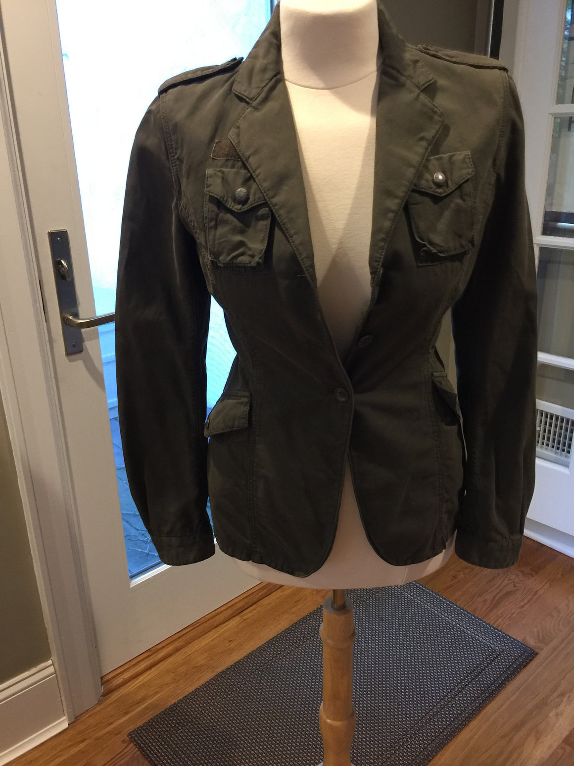 Prada Khaki Blazer - New York Authentic Designer - Prada