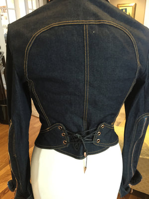 Roberto Cavalli Jean Jacket - New York Authentic Designer - Roberto Cavalli