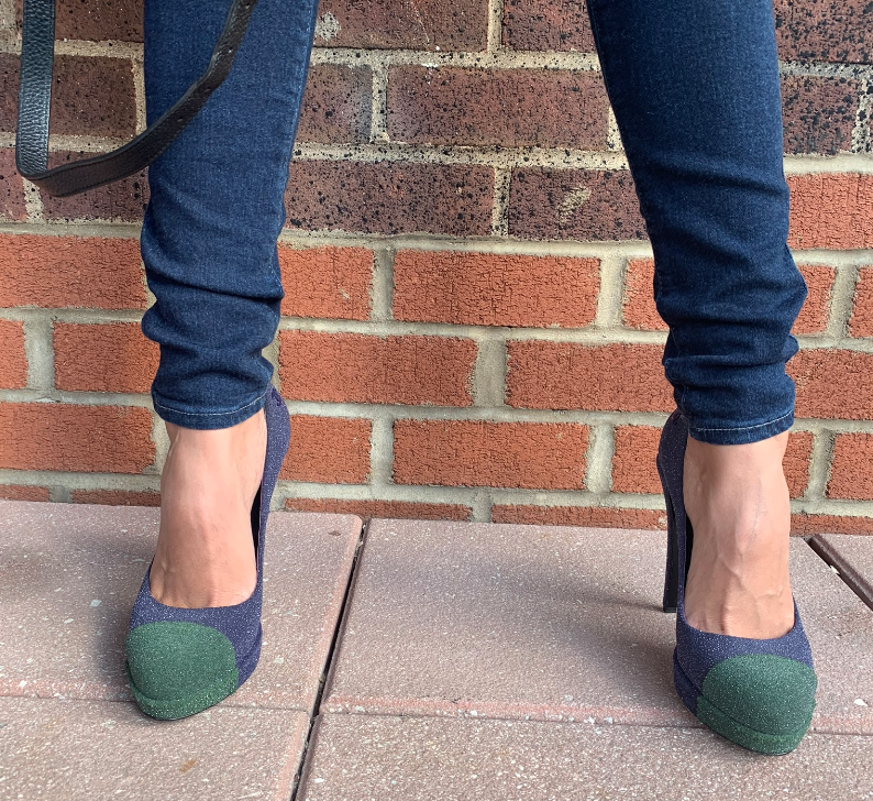 Authentic Chanel Pumps! (Blue/Green) - New York Authentic Designer - Chanel
