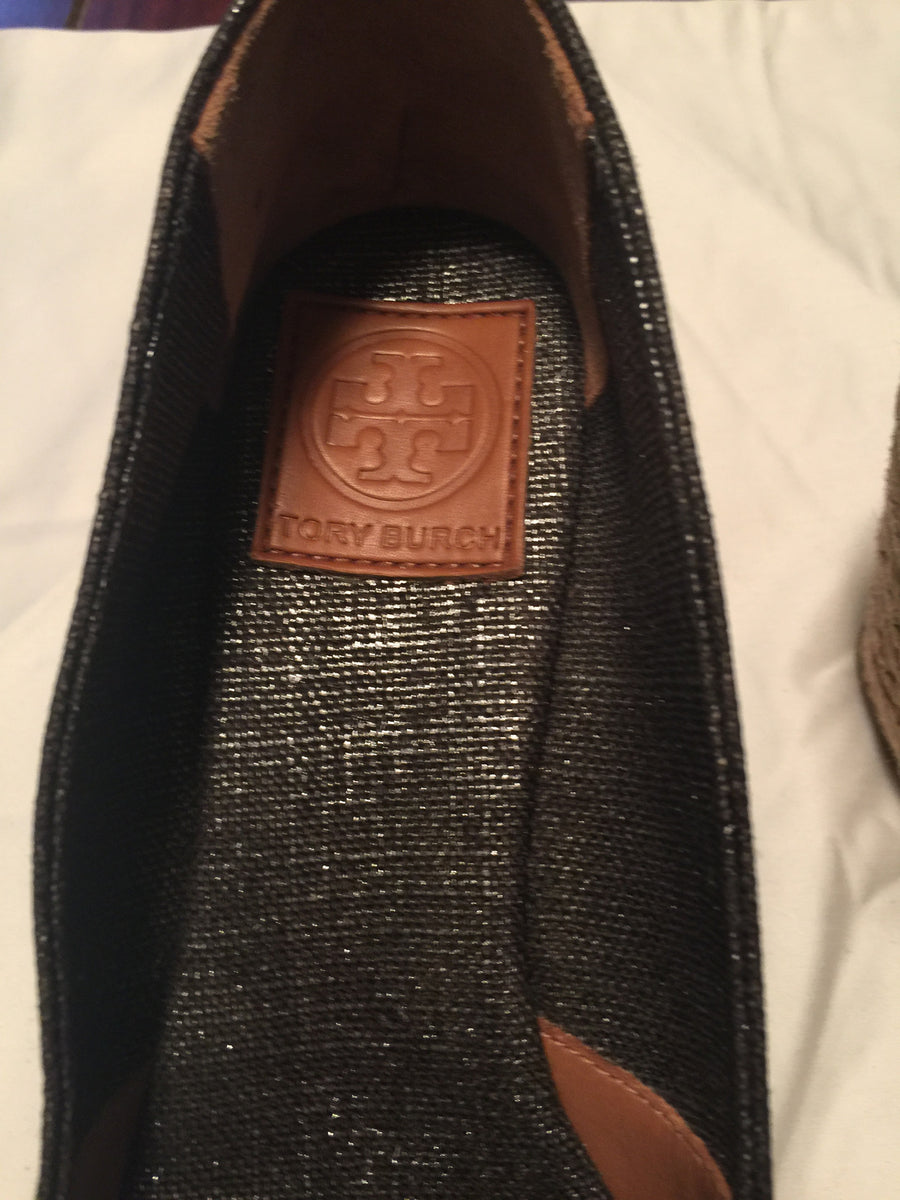Tory Burch Grey Wedges - New York Authentic Designer - Tory Burch