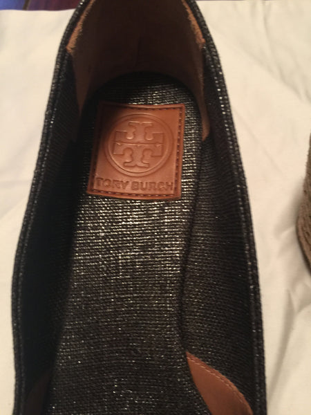 Tory Burch Grey Wedges
