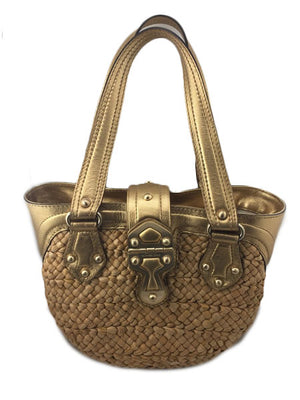 Michael Michael Kors Straw Tote Bag - New York Authentic Designer - Michael Kors