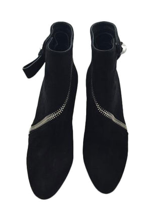 Alexander McQueen Black Ankle Boots - New York Authentic Designer - Alexander McQueen