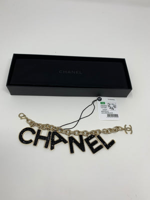 Chanel C-H-A-N-E-L Link Bracelet! - New York Authentic Designer - Chanel